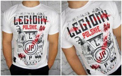 fa9dc532d T-shirt patriotyczny WRP ''Legiony Polskie'' XL - 6326076069 ...