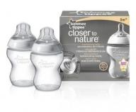 BUTELKA 260ML. 2 SZT. TOMMEE TIPPEE ZE SM. WOLNYMI