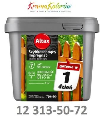 Impregnat szybkoschnący Orzech 10l altax
