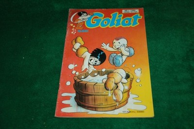 Goliat nr 1/1992 -  komiks