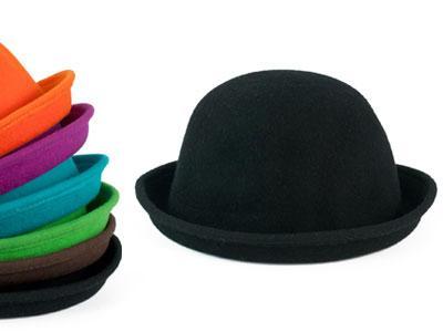 86f2fa624 Szaleo~_filcowy MELONIK kapelusz WEŁNIANY cz2930 - 2662436674 ...