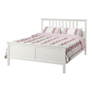 Ikea Hemnes Rama łóżka Biała Bejca 180x200 Cm 5721521681