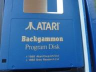 BACKGAMMON -  ATARI ST  BOX - wyd Atari Corp. 1988