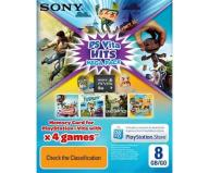 HITS MEGA PACK 4 GRY + KARTA SONY 8GB! PS VITA 24H