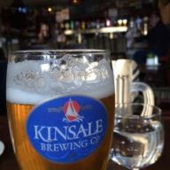 KINSALE BREWING szklanka PINT lager IRLANDIA