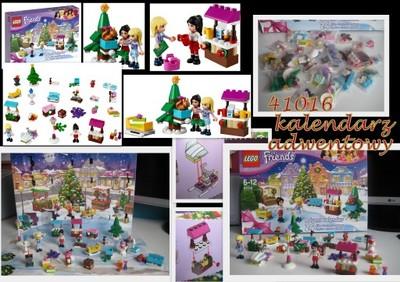 Klocki Lego Friends 41016 Kalendarz Adwentowy 6912188548