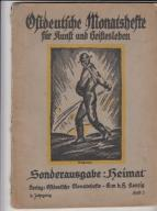 Gdańsk- Ostdeutsche Monatshefte 1921r