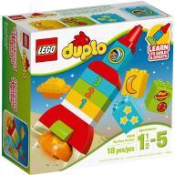 LEGO DUPLO 10815 MOJA PIERWSZA RAKIETA ZĄBKI