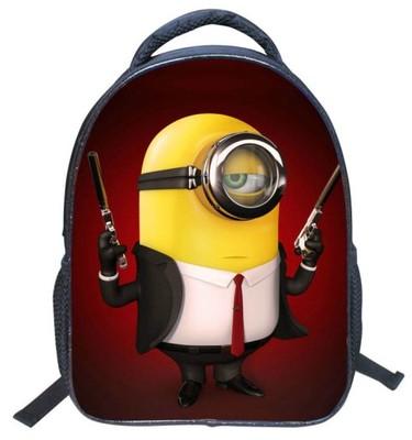 Plecak 3D Minionki Stuart Kevin Bob Big Hero 6 HIT