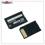 Adapter Micro SD MicroSD na MS ProDuo Pro Duo PSP