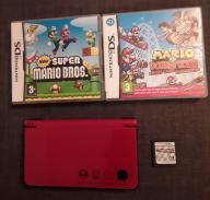 Nintendo DSI XL +GRY Super Mario Special Edition