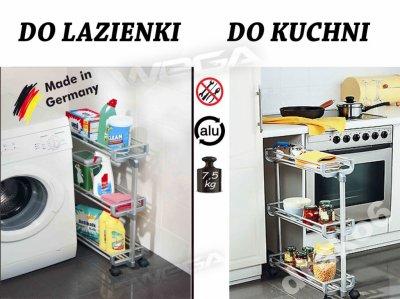 Pomocnik Szafka Na Kółkach Kuchni Do łazienki Alu