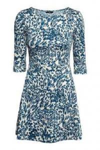 Cudna sukienka H&M panterka wzory r.L/40