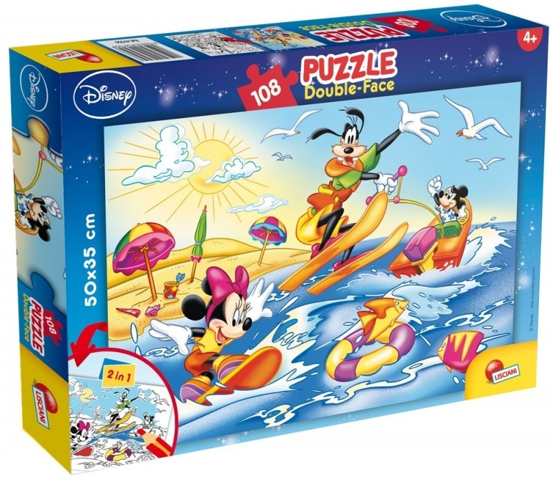 Myszka Miki i przyjaciele Puzzle 108 elementów 2 w