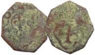 30.FRANCJA, FRANC.I, DENIER TOURNOIS 1515-1547 (?)