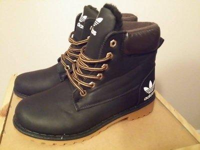 separation shoes 73c1e 30213 czarne trapery ocieplane adidas damskie