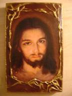 Ikona Obraz Oblicze Jezusa praca autorska