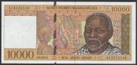 Madagaskar - 10000 franków - 1995 - stan UNC     A