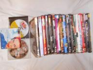Zestaw filmów DVD.