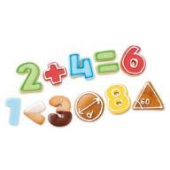 Foremki do ciastek w postaci cyfr kpl 21 szt K16