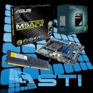 Athlon II X3 3x3,2 GHz 4GB DDR3+ ASUS +ATI3000