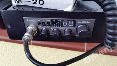 CB radio stabo xm 3003e antena President. Gratisy