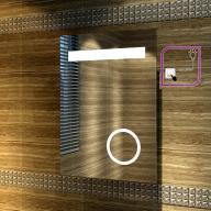 Lustro łazienkowe LED COLD WHITE 100x70cm