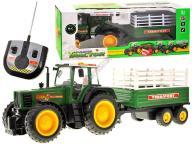 JKM RC0384 Traktor z przyczepą r/c FARMER przyczep