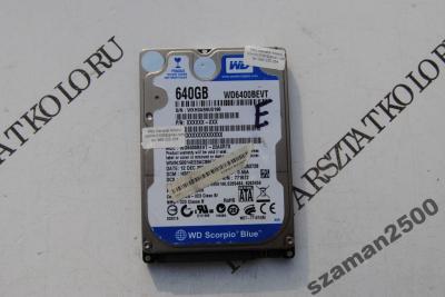 ELEKTRONIKA WD WD6400BEVT 22A0RT0 640GB FVAT H17