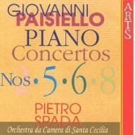 PIETRO SPADA Paisiello - Piano Concertos