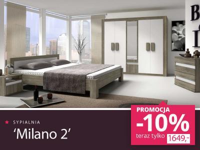 Sypialnia Meble Do Sypialni Milano 2 Szafa łóżko