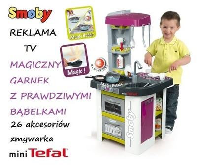 Smoby Kuchnia Mini Tefal Bubble Magic 311006 6641884213