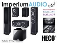 HECO MUSIC STYLE 900 200 Center 2 CZARNE SET 5.1