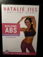 DVD Fitness Natalie Jill Building ABS Advanced