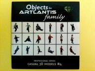 ARTLANTIS Objects - Casual 3D models #4 CD Dysk