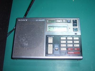 Radio globalne SONY ICF 7600 DS SSB