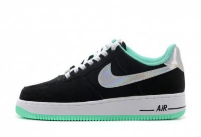 nike air force 1 low czarno biale