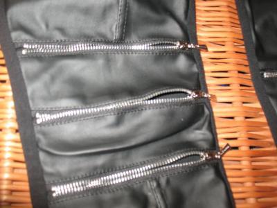 6176c286bc45 Leginsy Cocomoda spodnie skóra lateks zamki rurki - 5236738642 ...