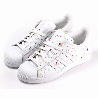 BUTY ADIDAS SUPERSTAR B42618 WHITE COLORFUL LIMIT - 6342009487 ... a2ed314ef