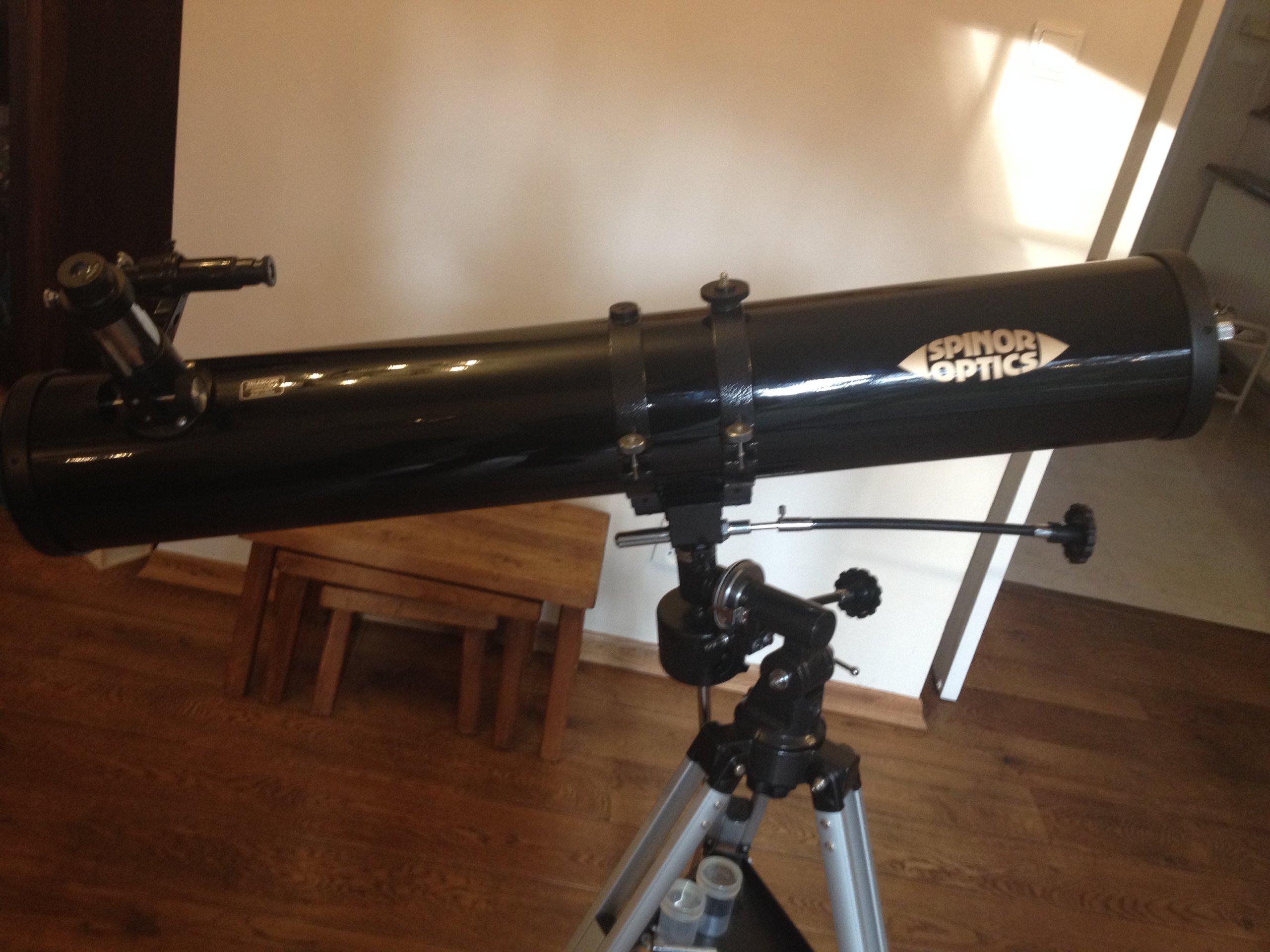 Teleskop drapera astronomiczny unikat po renowacji