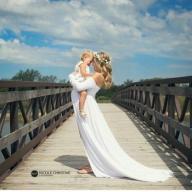 sukienka sesji zdjęciowej ciężarnej ciążowej L/XL
