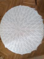 Serweta szydełkowa okrągła rozm. 100 cm