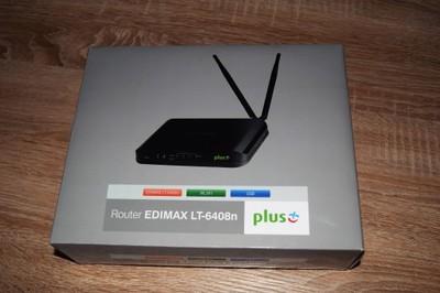 Router Edimax LT-6408n + ZTE MF823 LTE