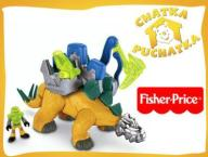 FISHER PRICE IMAGINEXT DUŻY DINOZAUR STEGOZAUR