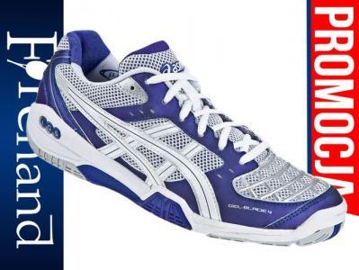 ASICS Buty damskie do badmintona GEL BLADE 4 purple white lightning