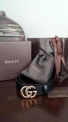 ad33360ed3e23 Gucci pasek. Rozmiar damski i męski. - 6821570234 - oficjalne ...