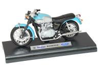 LBT MOTOR TRIUMPH BONNEVILLE 2002 1:18 WELLY 19660