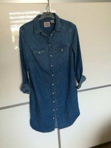 cd8084d84a Super modna sukienka jeansowa levi s xs - 6444330931 - oficjalne ...