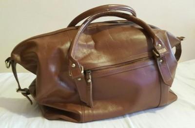 61c7e8e1e9f80 Skórzana torba ASOS
