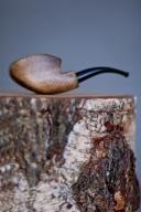 Fajka drewniana autograf Bukówka ręcznie robiona